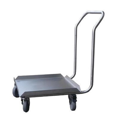 CHRselect Socle Inox pour Lave-Vaisselle avec Poignée | 50x50cm