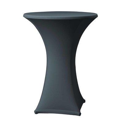CHRselect Housse de Table Cocktail Samba | pour Tables Ø85x115(h)cm | Anthracite