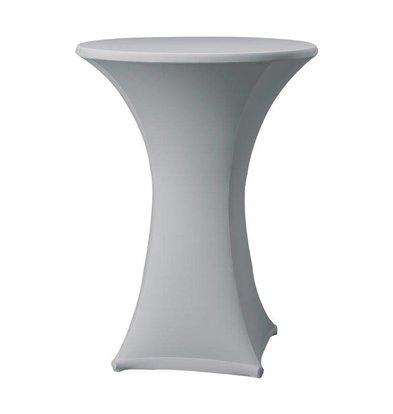 CHRselect Housse de Table Cocktail Samba | pour Tables Ø85x115(h)cm | Gris
