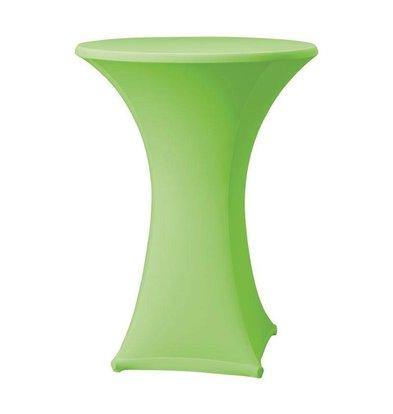 CHRselect Housse de Table Cocktail Samba | pour Tables Ø85x115(h)cm | Appelgroen