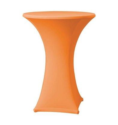 CHRselect Housse de Table Cocktail Samba | pour Tables Ø85x115(h)cm | Orange