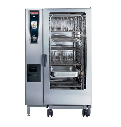 Rational Rational Four Mixte à Vapeur SCC 202E | Self Cooking Center Type 202 | 20 x 2/1 GN | 300-500 Couverts