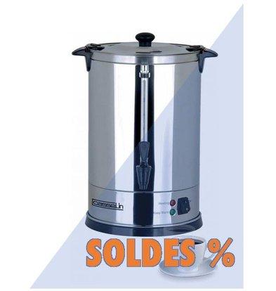 Casselin Percolateur Inox | 6,8 Litres | 48 tasses | Pas Besoin De Filtres | PROMOTION XXL!
