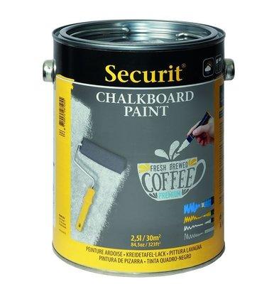 Securit Peinture gris Ardoise | 2.5L. pour 30m²