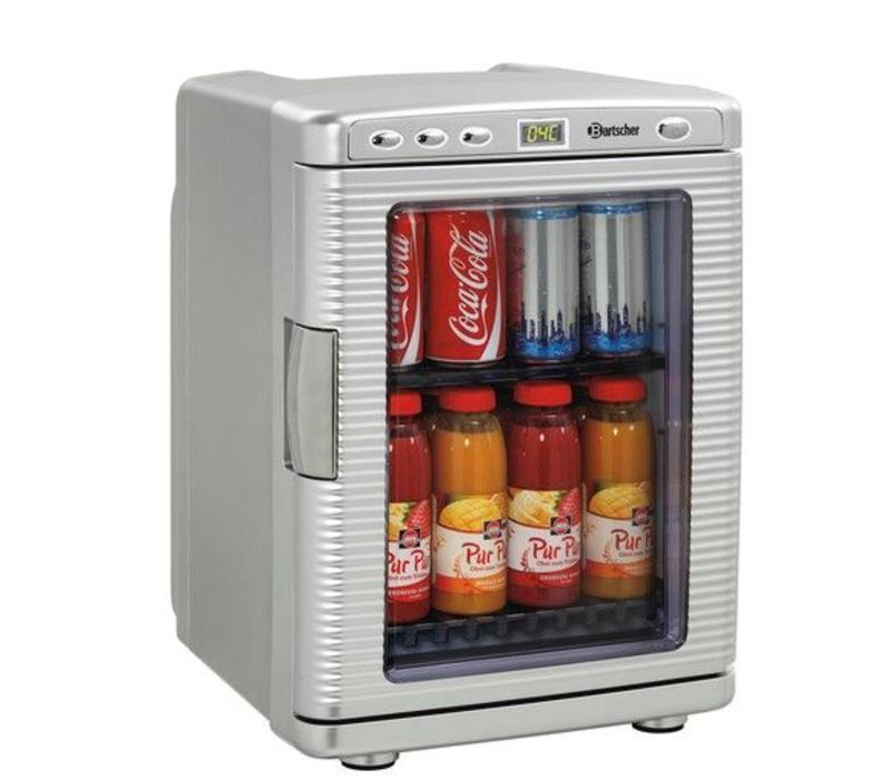 bartscher frigo de chambre mini 19 litres corps plastique 330x370x460 h mm. Black Bedroom Furniture Sets. Home Design Ideas