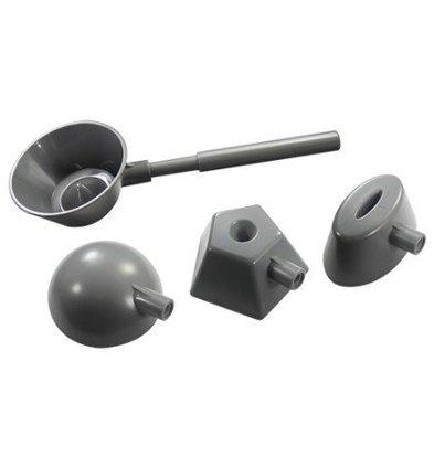 CHRselect Portionneur à Riz | Plastique | 4 Formes de 45(h)mm
