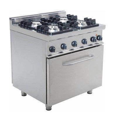 Achetez des fourneaux avec four en ligne chez chrshop - Cuisiniere 4 feux gaz four electrique ...
