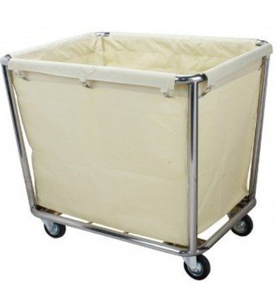 Saro Chariot Blanchisserie INOX   900x650x850(h)mm
