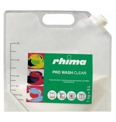 Rhima Détergent | Pro Wash Clear  | Sac 5 Litres | 1kg