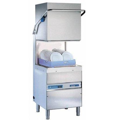 Rhima Lave Vaisselle à Capot 50x50cm   Rhima DR60i Plus   max. (H)410mm   Doseur de Rinçage + Breaktank + Pompe Surpresseur