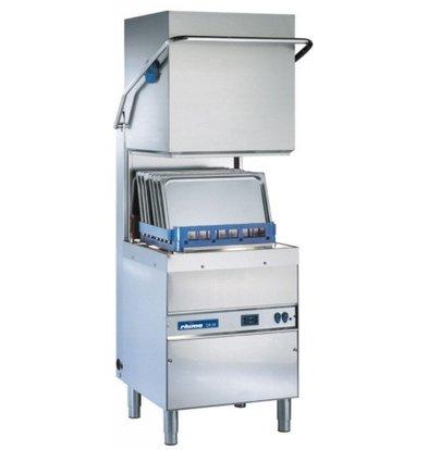 Rhima Lave Vaisselle à Capot 50x50cm   Rhima DR59 PLUS   max. (H)410mm   Doseur de Rinçage + Breaktank + Pompe Surpresseur