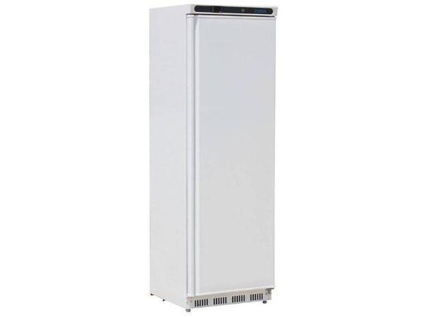 polar armoire r frig r e 1 porte blanche 400 litres 585 l x600 l x1850 h mm. Black Bedroom Furniture Sets. Home Design Ideas