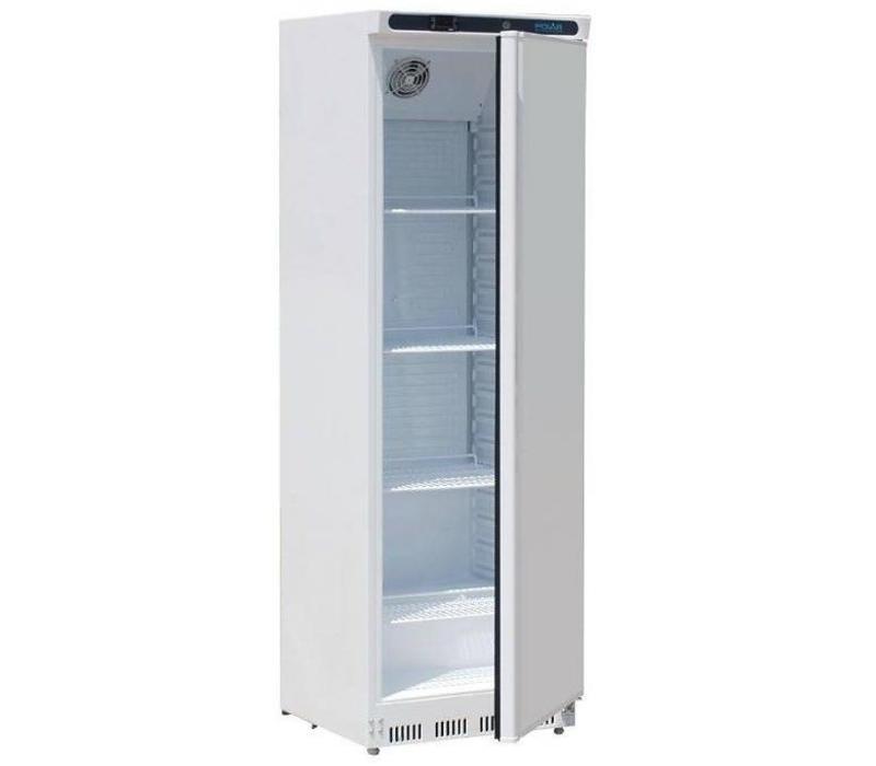 polar armoire r frig r e 1 porte blanche 400 litres. Black Bedroom Furniture Sets. Home Design Ideas