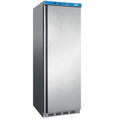 Saro Réfrigérateur INOX | 350 Litres | Ventilée | 600x580x1850(h)mm