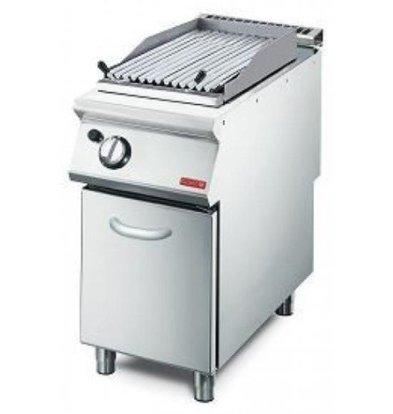 CHRselect Grill à Pierre de Lave   Grille-V   7,6kW   400x700x850(h)mm