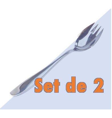 CHRselect Set de 2 Fourchettes à Huitres   Inox   150(l)mm