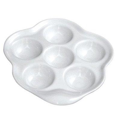 CHRselect Poelon à 6 Escargots Porcelaine   avec Oreille   Ø160mm