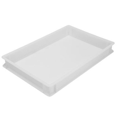 CHRselect Bac Plastique Empilable | pour Pâtes Pizza | 40x60cm | Différentes Tailles