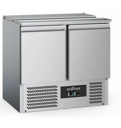 Combisteel Saladette Inox | 2 Portes | 240 Litres | 900x700x880(h)mm