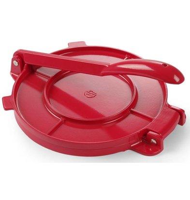Hendi Presse à Tortilla | Aluminium | Ø250mm