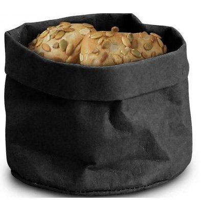 Sac kraft Alimentaire Noir | Lavable | 170x170x(H)150mm