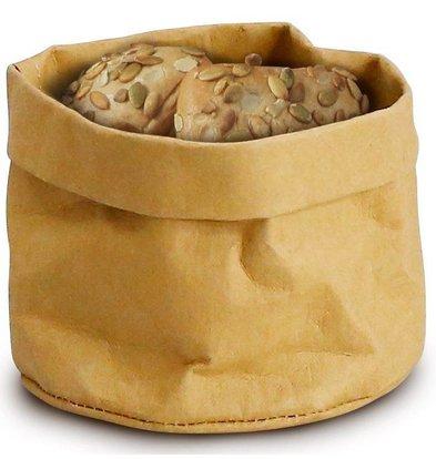 Sac kraft Alimentaire Beige | Lavable | 170x170x(H)150mm
