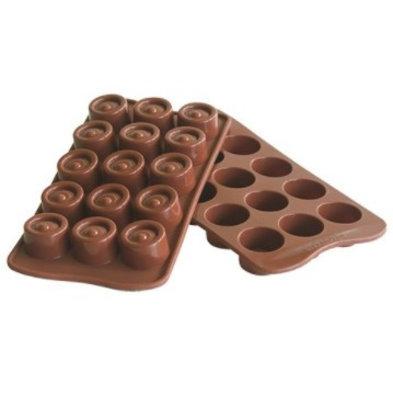 Emga Moule à Chocolat VERTIGO   Silicone   220x110mm