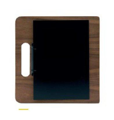 Securit Plaque Porte-Menu | 2 Anneaux | 320x240x50mm