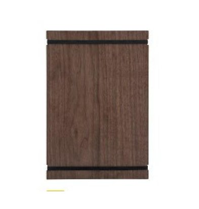 Securit Plaque Porte-Menu A4 | Noyer | 320x220x50mm