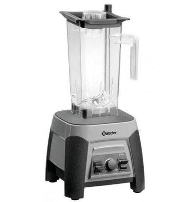 Bartscher Mixeur Blender Pro | 2,5 Liter | 1500W | Godet Plastique  Transparent | 225x225x555(h)mm