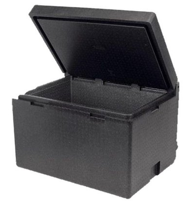 Polibox Cargo Box Isotherme | Couvercle Rabattable | 800x600x520(h)mm