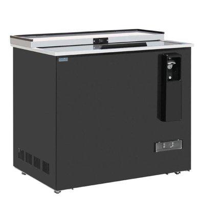 Refroidisseur à Bouteilles Verrouillable | 279 Litres | Acier Peint | DIGITAL | 935x687x888(h)mm