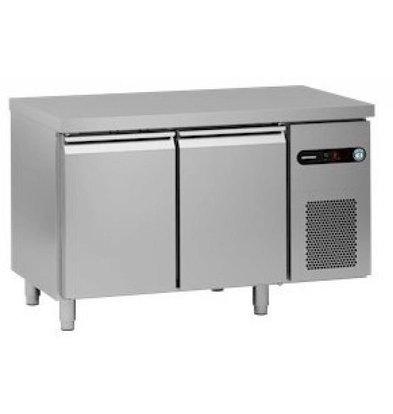 Hoshizaki Comptoir Réfrigéré Snowflake 2 Portes | SCR-130CH | 300 Litres | 1314x700x830-900(h)mm