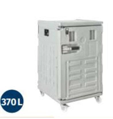 Linum Container Isotherme Série Cargo | Avec Roues | 370Litres | -30° à +100°C | 800x840x(h)1310mm