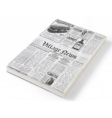 Papier Sulfurisé Journal | Lot de 500 Feuilles | Disponibles en 2 Tailles