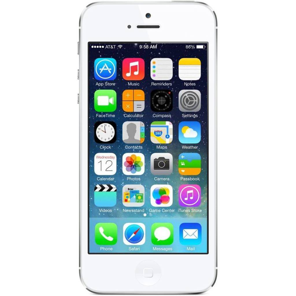 Apple Refurbished iPhone 5 Wit 32GB