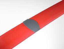Multi Meubel Rubber vloergoot 150 lang x 15 breed Leverbaar in 4 kleuren