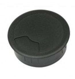 Multi Meubel Kabeldoorvoer 3 delig Ø 80 mm zwart 423001.080.000 Bureau kabeldoorvoer Ø 80 mm zwart