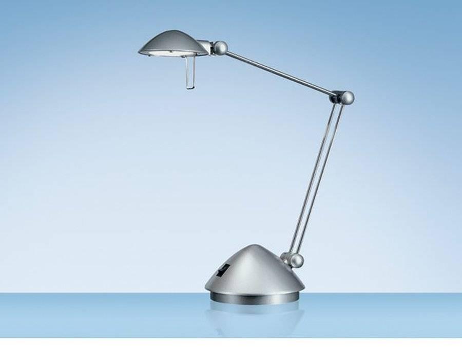 HANSA Bureaulamp Hansa halogeen Madrid zilver