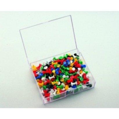 HUISLIJN Push pin 200 stuks assorti 7-145299
