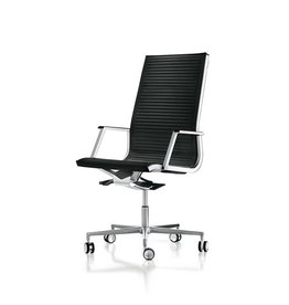 LUXY HIGH NULITE RIBBED BUREAUSTOEL 26040 Design Luxy R&D