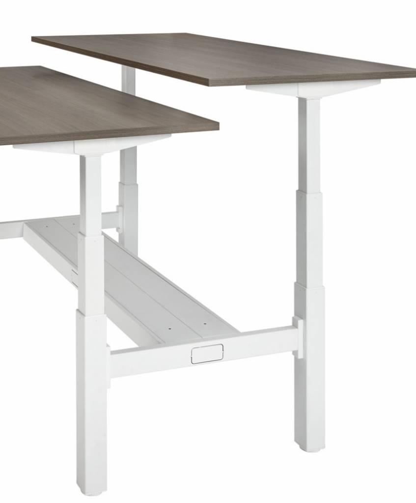 HUISLIJN DUO werkplek Elektrisch verstelbaar 64-124 cm