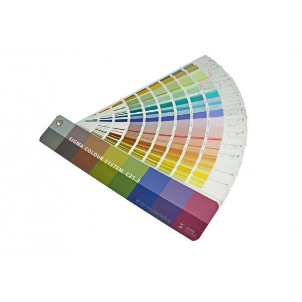 Sigma Colour System C213 Colour Chart Deverfwebshop