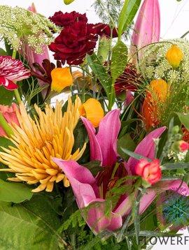 Gemengd Boeket Crazy Flowers