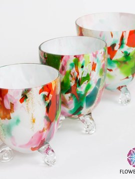 Fidrio Vases Mixed Colors Escargot