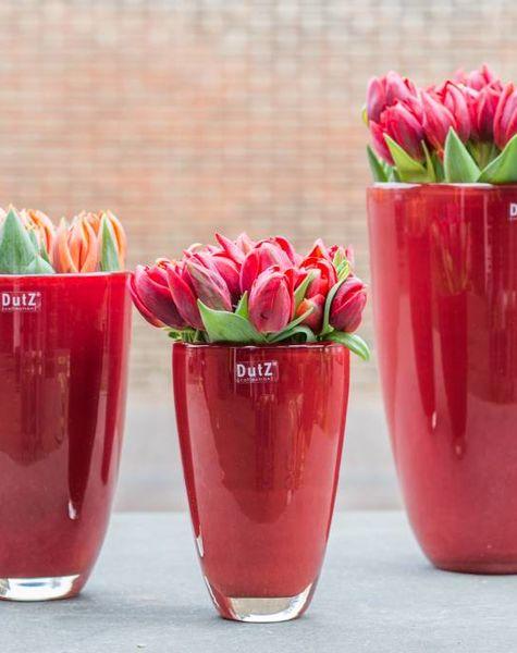 Flower Vases Red Flowerfeldt