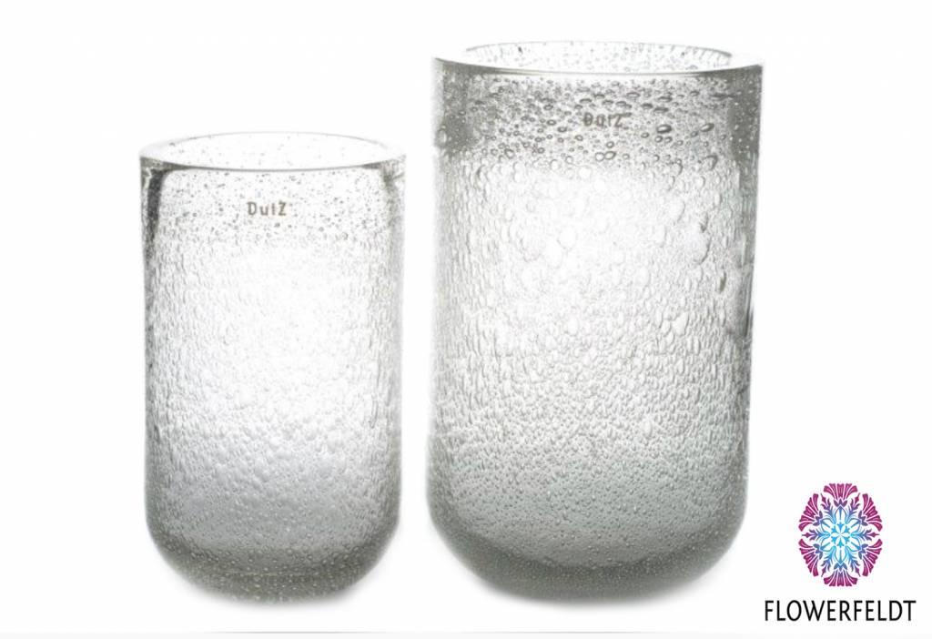 DutZ Vase Thick clear bubbles