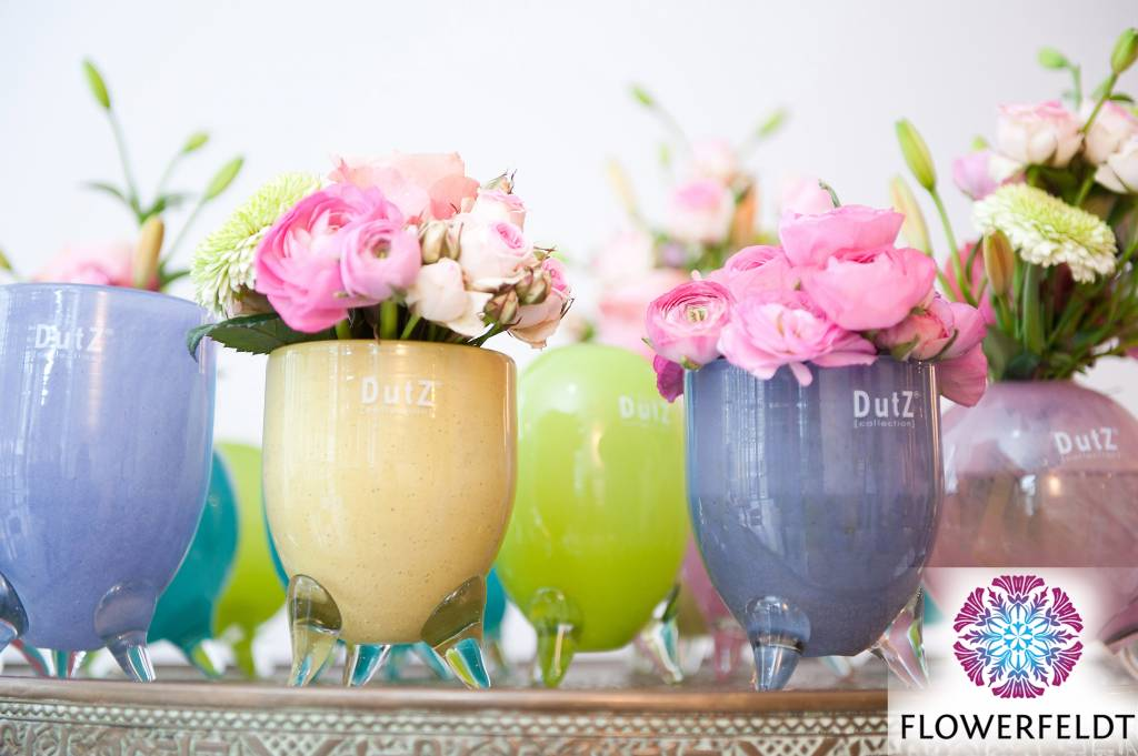 Dutz evita light green vazen flowerfeldt for Dutz vazen verkooppunten