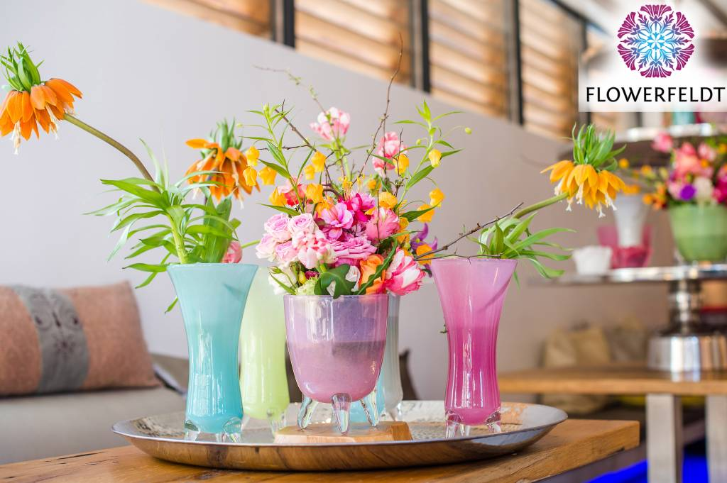 Dutz evita fuchsia vazen flowerfeldt for Dutz vazen verkooppunten