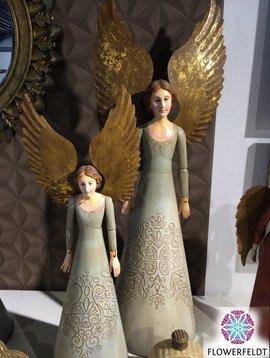 Wooden angel green